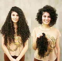 Lindos caracóis. | 18 transformações incríveis que vão te inspirar a cortar o cabelo