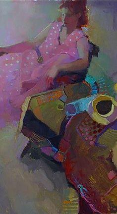 Michael Steirnagle - Pink Dress