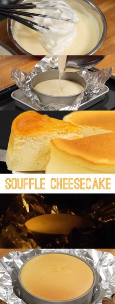 This fluffy and moist Cheesecake using meringue is very popular in Japan. Cheese lovers should definitely try this recipe!