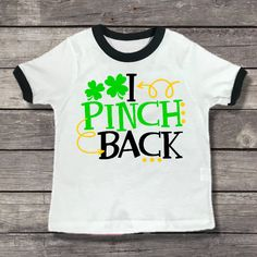 e5a299f7 Kid's Ringer T-Shirt - Little Mister Lucky Charm - Custom St Patrick's Day  - Toddler Ringer T-Shirt - Boy Outfit - Kids - Gift For Kids by  JCoolTeesTotesEtc ...
