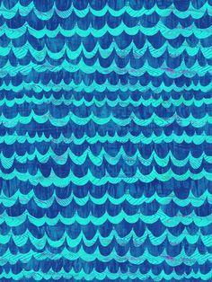 WAVES Art Print by schatzibrown