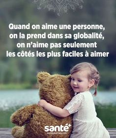 """""""When we love a person, we take it as a whole, we do not like it . Sad Quotes, Words Quotes, Love Quotes, Motivational Quotes, Inspirational Quotes, French Words, French Quotes, Doodle Quotes, Quote Citation"""
