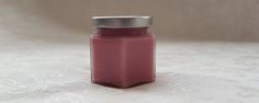 English Garden Candle  4oz Gift Size Soy Candle Jar  Pink