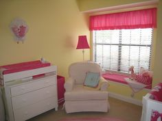 Pink and Yellow Nursery Ideas