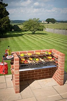 BLACK KNIGHT BARBECUES BKB 802 112 x 39 cm X-Large Barbecue Kit - Stainless Steel