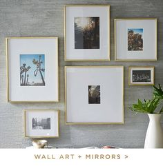 Shop west elm wall art and mirrors