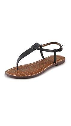 e27688710d6be3 Gigi T Strap Flat Sandals. Sam Edelman ...
