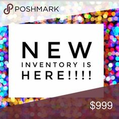 Posh New inventory Other