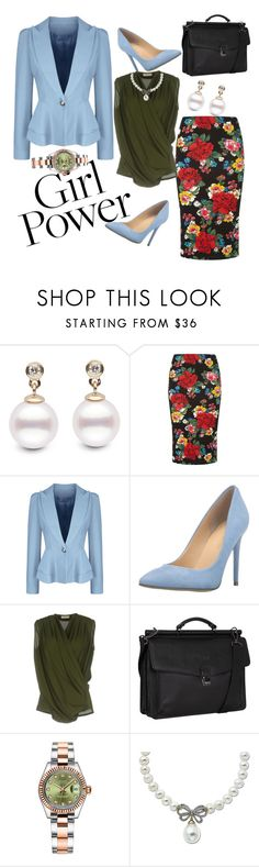 """""""That GIRL Power"""" by shawanda-elam ❤ liked on Polyvore featuring Dorothy Perkins, WithChic, Ivanka Trump, H2o Italia, Kenneth Cole Reaction, Rolex, Lord & Taylor, MyPowerLook and 070717"""