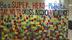 red ribbon week superhero theme - Google Search