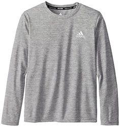 Adidas youth boys 8-20 essential clima long sleeve tee