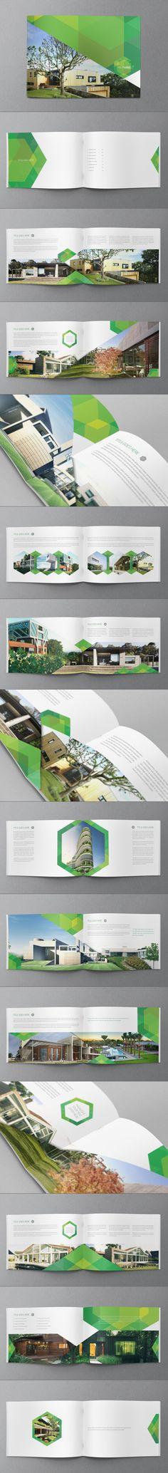 [Stools Brochure]  Ecologic Hexo Brochure by Abra Design, via Behance