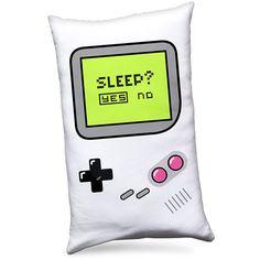 Almofada Gamer Boy - Sleep Yes or No disponível em http://www.katanapresentes.com.br/4da7d/almofada-gamer-boy-sleep-yes-or-no