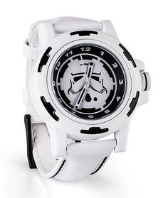 Star Wars Stormtrooper watch--a grown-up one.