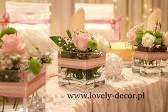 Dekoracje stołu weselengo  #wesele #ślub #dekoracje #wedding #decor