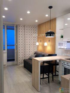 - All For Home İdeas Condo Interior Design, Small Apartment Interior, Small Apartment Kitchen, Small Apartment Design, Apartment Layout, Small Apartments, Studio Apartments, Home Building Design, Condo Living