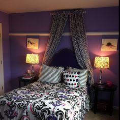 Don't miss our sassy little girls room. Get more decorating ideas at http://www.CreativeBabyBedding.com