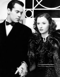 "Henry Fonda and Barbara Stanwyck in ""The Mad Miss Manton"", 1938"