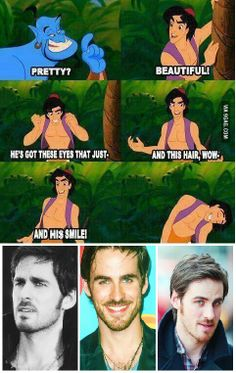 Colin O'donoghue / Hook OUAT. Right???!!
