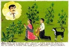 Damos gracias infinitas al santo Jesus Malverde porque se nos dio muy bien nuestro sembradito de mariguana y logramos vender muy bien la cosecha y con eso nos vamos a comprar unas vacas y unos marranitos