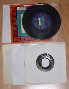 """6x 7"""" Vinyl Collection SAM THE SHAM AND THE PHARAOES -GRASS ROOTS - CCR"""