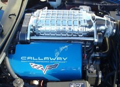 2008 CHEVROLET CORVETTE C6 Z06 Callaway, supercharged 7litre engine 486kw (600+hp) frightening!