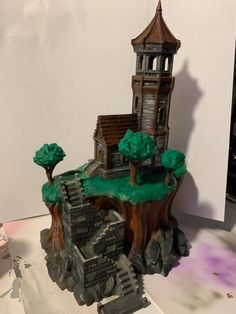 The Elder Lighthouse printed by Josh Lott