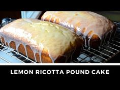 Perfect for whenever guests drop by for a visit, this LEMON RICOTTA POUND CAKE is easy to prepare but oh, so flavourful. Enjoy!