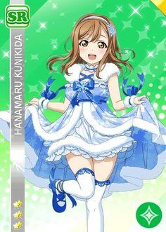 ★SR - Hanamaru Kunikida - The Four-Tiered Snowman I've Dreamed of (Idolized) / Event card ★