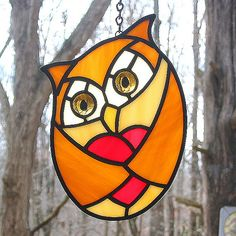 glass art #owls
