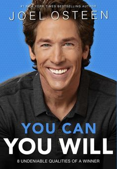 "[""In YOU CAN, YOU WILL, Joel Osteen identifies the eight irrefutable traits and attributes of highly successful people. These personal qualities are tested through the ages and all types of circumstances. The practical principles guide the lives of champions are: <BR>Create bold visions - Dare to dream big dreams. Run your own race - Focus on your unique course and goals. Think positively - Control your thoughts and attitudes.Expect Good things to happen-Anticipate great opportunities.Stay…"