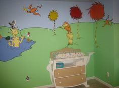 dr seuss bedroom ideas - Google Search