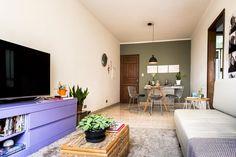 sala / sala sem barreiras / Como distribuir um apartamento pequeno #hogarhabitissimo