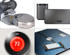 8 Gadgets For The High-Tech Home - InformationWeek Home Gadgets, New Gadgets, Coolest Gadgets, Awesome Gadgets, Home Technology, Technology Gadgets, Utensil Set, Kit Homes, Smart Home