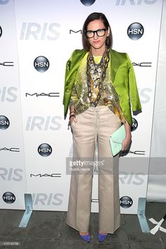 Jenna Lyons attends The 'Iris' New York Premiere at Paris Theatre on April 22, 2015 in New York City.