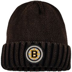 ab71c8952dc6ce Men's Boston Bruins Mitchell & Ness Brown Vintage Ribbed Cuffed Knit Hat,  Sale: