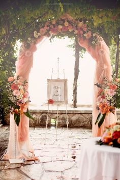 Wedding arch Wedding in Montenegro