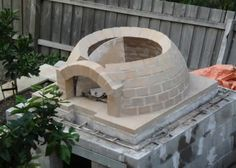 Building plans for a 42 inch igloo brick pizza oven - Pinkbird