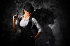 Dangerous And Beautiful Criminal Girl With Gun Stock Photo - Image of people, cruel: 36278436 Weekend Is Coming, Salma Hayek, Guns, Hollywood, Poses, Stock Photos, Lady, People, Image