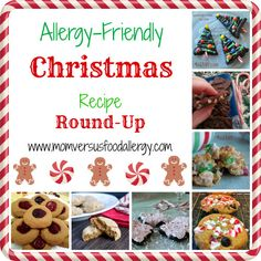 Since the Thanksgiving Recipe Round-Up was such a hit, I've put together a Christmas version with submission from the same great bloggers! You'll see recipes from Making It Milk-Free, Blessed Littl...