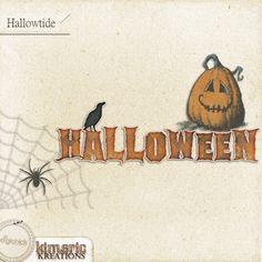 Scrapbooking TammyTags -- TT - Designer - Kimeric Kreations, TT - Item - Word Art, TT - Style - Cluster, TT - Theme - Halloween