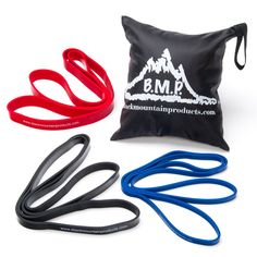 Black Mountain Products Strength Loop Resistance Exercise Bands - STRENGTH BANDS COMBO
