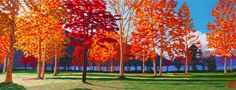 Fall Maples #Beautiful #Handmade #Silk #Embroidery #Art 87027 http://www.queensilkart.com/100-handmade-embroidery-framed-landscape-fall-maples-87027/ In Feng Shui, trees, forests and forest paths are symbolic of ancient wisdom, the ability to tap into inner resources to navigate life and become wealthy and successful. Images of trees in the home attract money and wealth. The scene provides symbols of all Five Elements of Feng Shui.