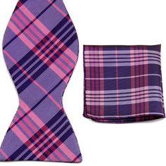 Men's Bow Tie and Handkerchief Set - $16.95