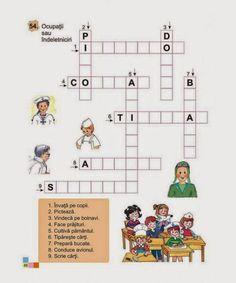 Doi Iepurasi: Rebus pentru prescolari Kindergarten Addition Worksheets, Math Worksheets, Paper Games, Printed Pages, School Lessons, After School, 4 Kids, Kids Education, Preschool Crafts