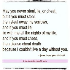 Leap year quote--- my FAVORITE quote ❤️❤️❤️❤️