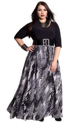 IGIGI by Yuliya Raquel Plus Size Mia Maxi Dress