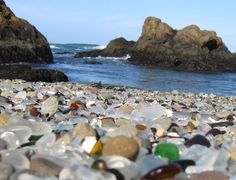 A glass beach ....one day