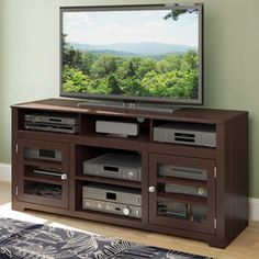 "Sonax E-9462-BW West Lake 60"" Television Bench in Dark Espresso"