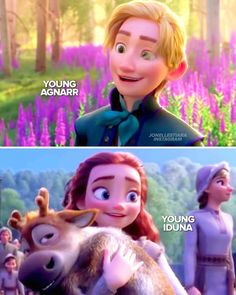 Young Agnarr and young Iduna, future King and Queen of Arendelle Frozen Disney, Disney Magic, Frozen Movie, Disney Dream, Frozen Two, Frozen Fan Art, Anna Frozen, Frozen Party, Humor Disney